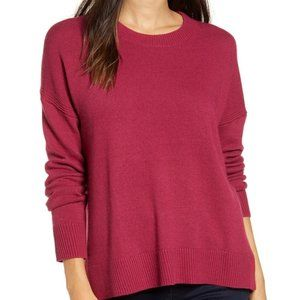 NWT Chelsea 28 High/Low Crewneck Sweater